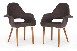 Baxton Studio Forza Dark Brown Fabric Mid-Century Modern Arm Chair (Set of 2) Baxton Studio Forza Dark Brown Fabric Mid-Century Modern Arm Chair, IEDC-594-(431-13B), compare Baxton Studio Forza Dark Brown Fabric Mid-Century Modern Arm Chair, best price on Baxton Studio Forza Dark Brown Fabric Mid-Century Modern Arm Chair, discount Baxton Studio Forza Dark Brown Fabric Mid-Century Modern Arm Chair, cheap Baxton Studio Forza Dark Brown Fabric Mid-Century Modern Arm Chair