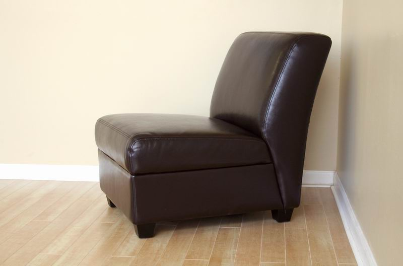 Arthur Brown Armless Club Chair Interior Express