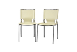 Montclare Ivory Leather Modern Dining Chair (Set of 2) Montclare Ivory Leather Modern Dining Chair (Set of 2), IEALC-1083 Ivory (2)compare Montclare Ivory Leather Modern Dining Chair (Set of 2), best price onMontclare Ivory Leather Modern Dining Chair (Set of 2), discount , cheap Montclare Ivory Leather Modern Dining Chair (Set of 2)
