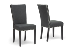 Baxton Studio Harrowgate Dark Gray Linen Modern Dining Chair (Set of 2) Baxton Studio Harrowgate Dark Gray Linen Modern Dining Chair, IEBH-63113-Grey, compare Baxton Studio Harrowgate Dark Gray Linen Modern Dining Chair, best price on Baxton Studio Harrowgate Dark Gray Linen Modern Dining Chair, discount Baxton Studio Harrowgate Dark Gray Linen Modern Dining Chair, cheapBaxton Studio Harrowgate Dark Gray Linen Modern Dining Chair