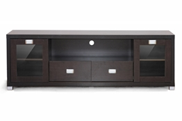 Baxton Studio Gosford Brown Wood Modern TV Stand