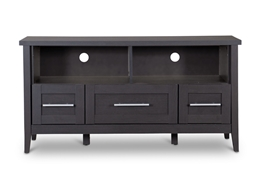 Baxton Studio Espresso TV Stand-Three Drawers Baxton Studio Espresso TV Stand-Three Drawers, Living Room Furniture