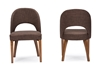 Baxton Studio Lucas Mid-Century Style Brown Fabric  Dining Chair (Set of 2) Baxton Studio Lucas Mid-Century Style Brown Fabric  Dining Chair, RT323-CHR, compare Baxton Studio Lucas Mid-Century Style Brown Fabric  Dining Chair, best price on Baxton Studio Lucas Mid-Century Style Brown Fabric  Dining Chair, discount Baxton Studio Lucas Mid-Century Style Brown Fabric  Dining Chair, cheap Baxton Studio Lucas Mid-Century Style Brown Fabric  Dining Chair