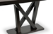 Baxton Studio Everdon Dark Brown Modern Sofa Table - IESA107-Console Table