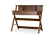 Baxton Studio Crossroads II Writing Desk - IESD-10-Oak