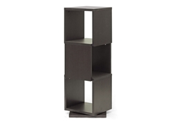 Baxton Studio Ogden Dark Brown 3-Level Rotating Modern Bookshelf Baxton Studio Ogden Dark Brown 3-Level Rotating Modern Bookshelf, WI4889 compare Baxton Studio Ogden Dark Brown 3-Level Rotating Modern Bookshelf, best price on Baxton Studio Ogden Dark Brown 3-Level Rotating Modern Bookshelf, discount Baxton Studio Ogden Dark Brown 3-Level Rotating Modern Bookshelf, cheap Baxton Studio Ogden Dark Brown 3-Level Rotating Modern Bookshelf
