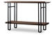 Baxton Studio Newcastle Wood and Metal Console Table - IEYLX-2646-ST